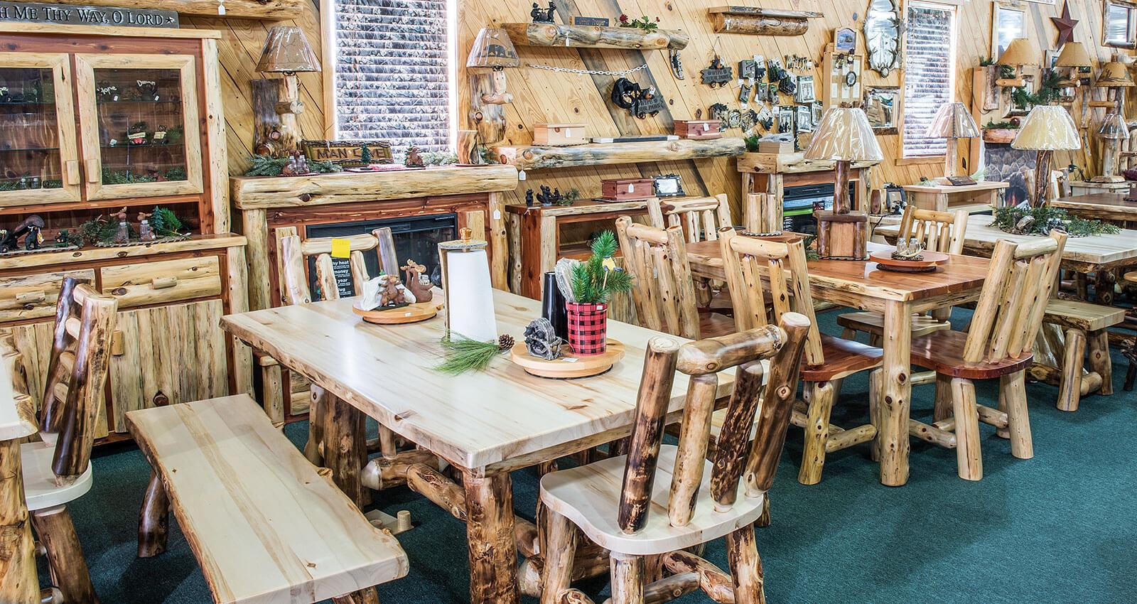 Kitchen Dining Furniture Dutchman Log Furniture